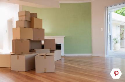 搬家前先打包好所有的物品
