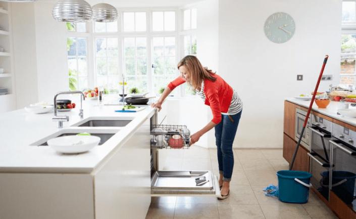 清理厨房家电