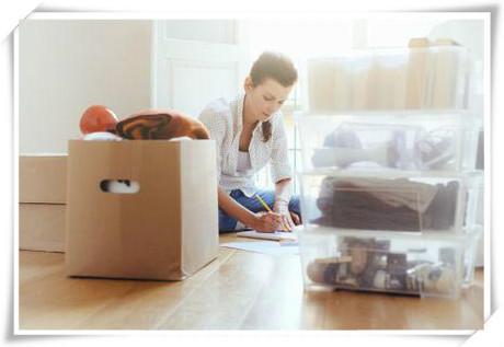 提前打包搬家物品